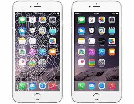 iPhone szerviz kijelző csere