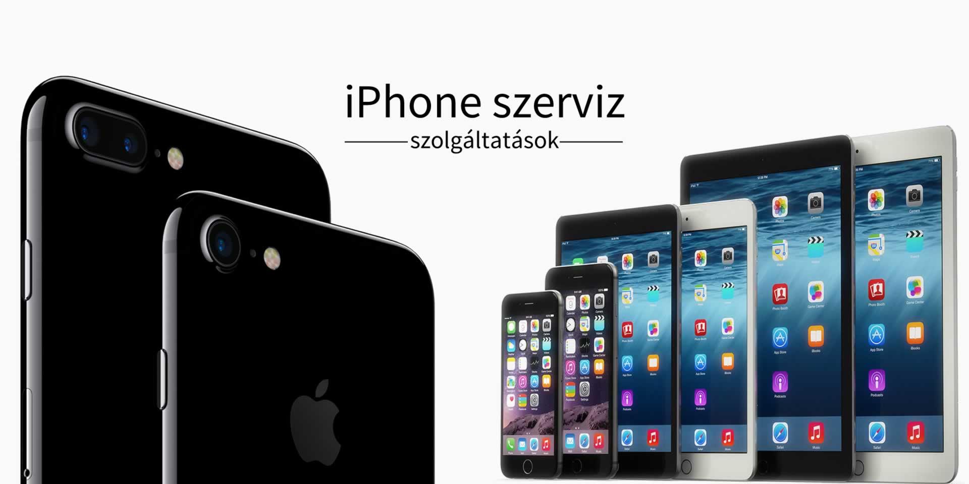 iPad iPhone szerviz